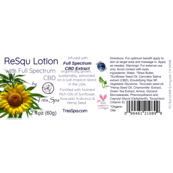 ReSqu Lotion by Tres Spa