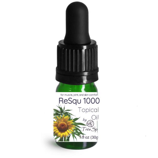 ReSqu 1000 Oil by Tres Spa Sample